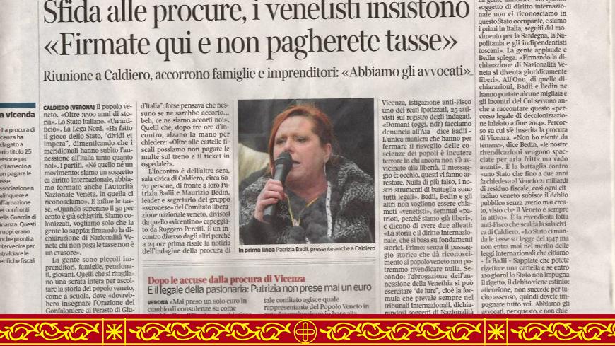 Comunicato Stampa 1265-2016