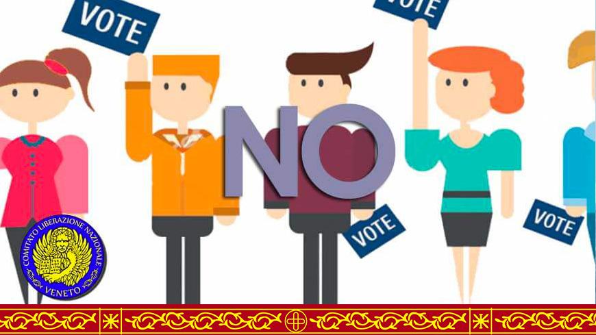 Patrocinio del CLNV al referendum indipendenza dei territori veneti occupati SERENISSIMA.ORG