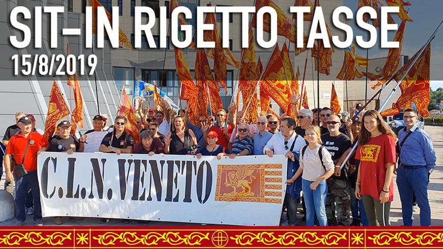 Comune di SAN VENDEMIANO (TV) - Sit-in Rigetto tasse Diritto Autodeterminati