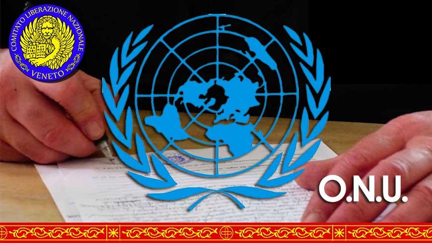 Richiesta di Ammissione all'Assemblea Generale dell'ONU