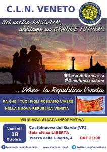 Castelnuovo del Garda (VR) @ Sala civica LIBERTÀ | Castelnuovo del Garda | Veneto | Italia
