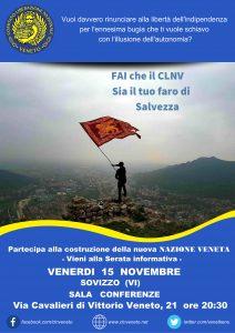 Sovizzo (VI) @ SALA CONFERENZE | Sovizzo | Veneto | Italia