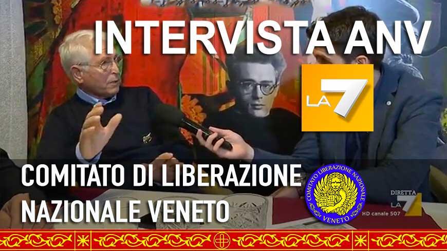 Intervista ANV programma LA7