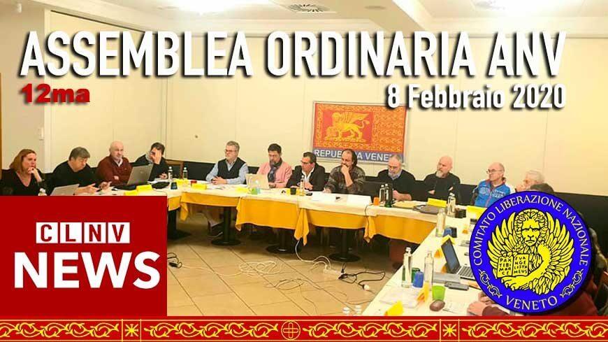 12^ ASSEMBLEA ORDINARIA ANV