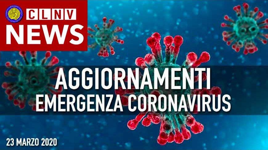 Aggiornamenti Emergenza Coronavisrus - MODULI da scaricare