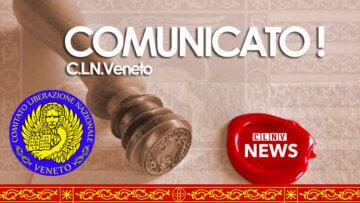 Comunicato ufficiale Commissione S.A.I. - C.L.N.veneto