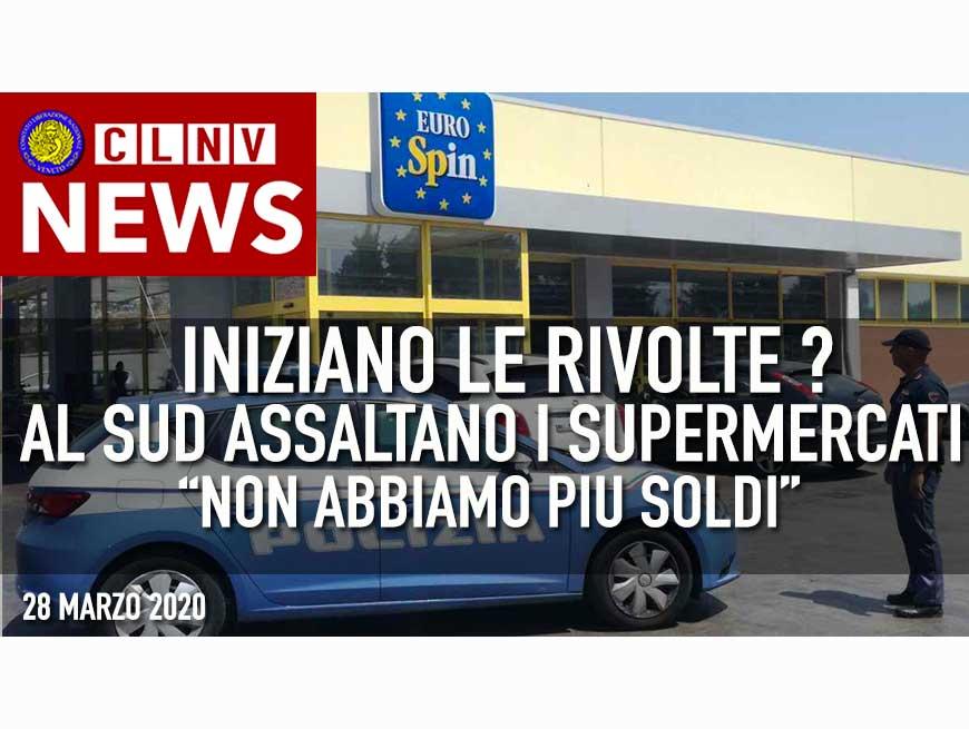 """Coronavirus, a Palermo tentato assalto al supermarket: """"Non abbiamo soldi"""" - Iniziano i problemi?"""