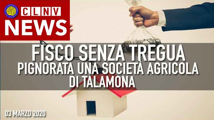FISCO: Pignorata Società Agricola di Talamona NONOSTANTE l'Emergenza