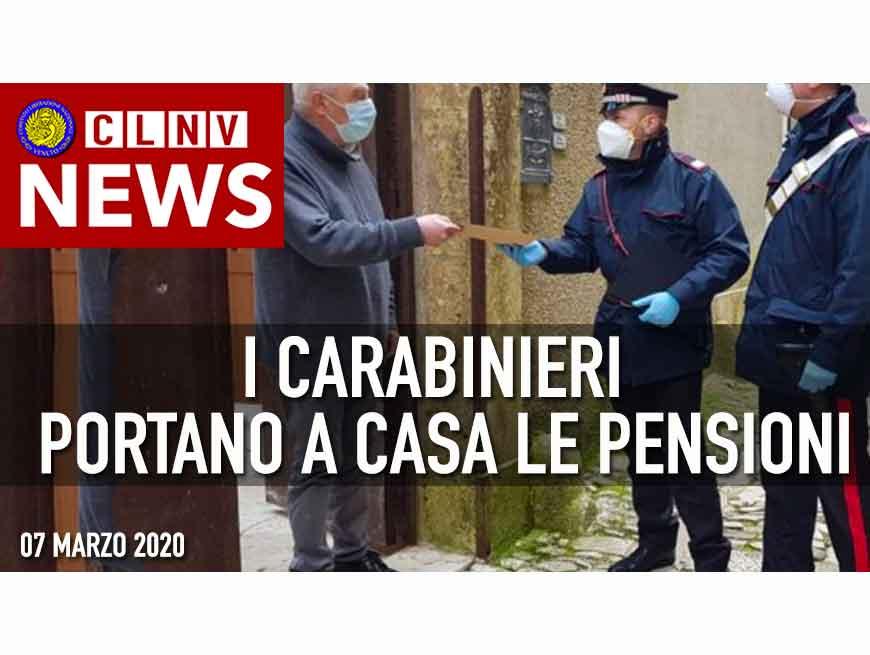 CARABINIERI Portano a casa le pensioni