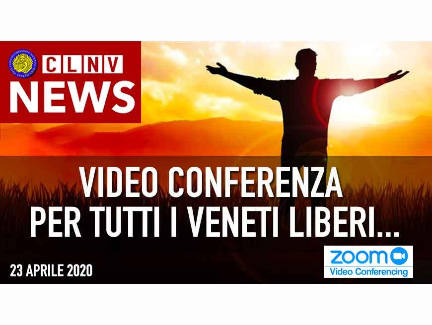 VENERDI 24.00 APRILE ore 20.45 il C.L.N.V. veneto ha organizzato una webinar collettivo....